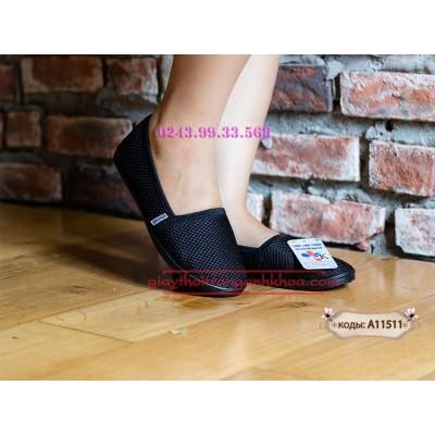 Giày Anh Khoa A115-11 -  Vải Lưới Cotton Thấm Hút Mồ Hôi Hiệu Quả