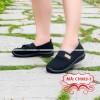 Giày Lười Nữ Anh Khoa Vải Chun Co Giãn Form Ôm Chân Mềm Mại E993CH-1