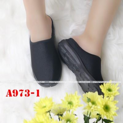 Giày Nữ Anh Khoa  Vải Lưới Cotton Mềm Mại A973-1