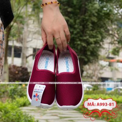 Giày Lưới Nữ - Anh Khoa - siêu bền , giặt bằng máy giặt, thoáng mát ôm chân, phù hợp du lịch , thể dục...