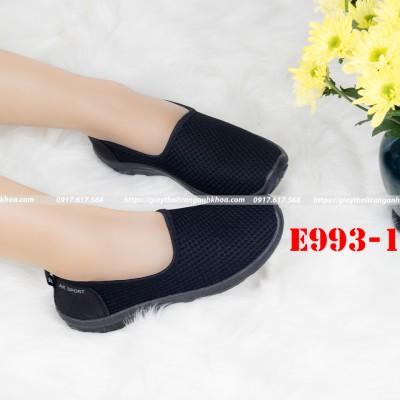 Giày Lười Nữ Anh Khoa Siêu Bền Giặt Được Bằng Máy Giặt E993-1