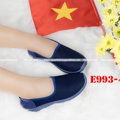 Giày Anh Khoa - xuất Nga - chất sợi dệt cao cấp - đế xuồng ôm chân E993-4